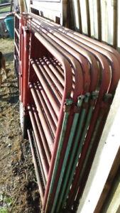 Barrière pour bétail en acier 12 pieds