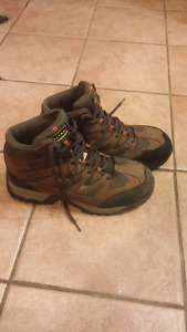 Altra industrial steel toe work boots