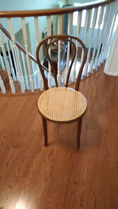 Bentwood Chair with Cane Seat
