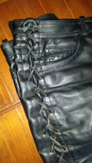 Leather Motorcycle pants. Female cut. Size 10 Wannanup Mandurah Area Preview