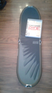Tony Hawk Ride ps3 game and board