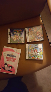 Nintendo ds games and smooth moves wii
