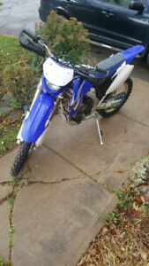 MINT!!!!!2008 WR250 Offroad weapon