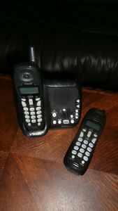 VTECH PHONE WITH DIGITAL ANSWERING MACHINE