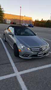 MERCEDES BENZ E350 CONVERTIBLE – Priced for quick sale