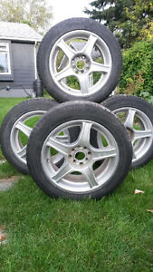 Winter Tires on Rims fits Imports