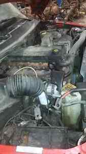 2001 DODGE DUALLY DIESEL- 4WD - FOR PARTS (STOCK A1605)