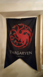 Game of thrones banners.