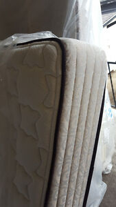 Queen size pillow top mattress and box spring,250.00, VERY CLEAN