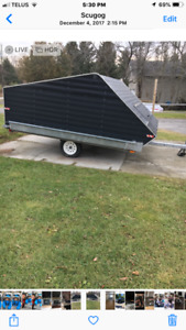 REDUCED  Snowmobile trailer 10 ft was $2500 now $2000