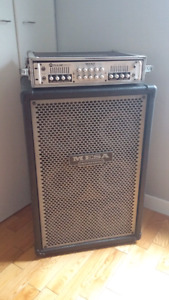 Bass amp  M-pulse 600/power house 6x10