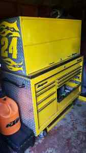 Custom Snap-On toolbox and chest