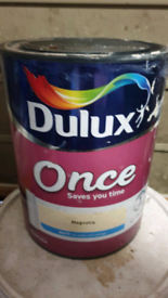 5 Ltr Dulux Once Magnolia Emulsion Paint