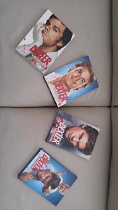 Dexter Seasons 1-4 DVDs