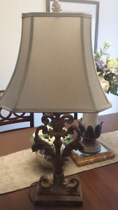 Large table lamps  ( PAIR)