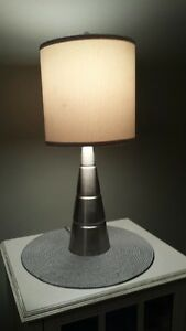TWO SETS OF TABLE LAMPS