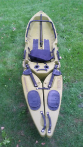 Freedom hawk 12' fishing kayak