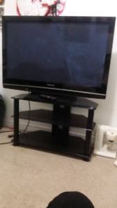 40' Inch Panasonic TV with a stand