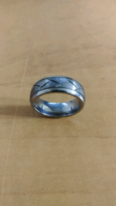 Tungsten wedding band 8.5
