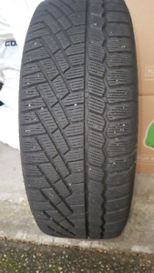 Set of 4 Continental snow tires - 215/55R17