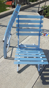 2 Folding Deck Chairs