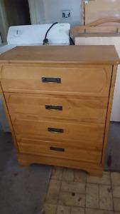 4 drawer tall dresser
