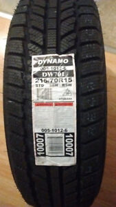 215/70/15 Set of 4 BRAND NEW Winter Tires