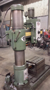 TOA radial arm drill