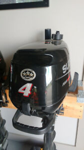 outboard motor Suzuki new DF4S 4hp 4 year warranty