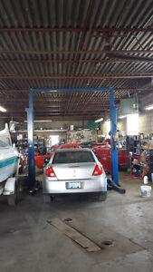 RENT AUTO SHOP / GARAGE FOR SHORT-TERM / DAILY BASIS