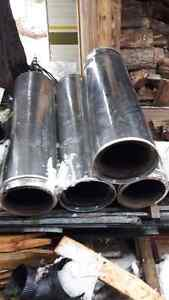 insulated chimney pipe ( used )