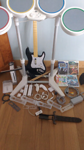 Wii game system and accessories