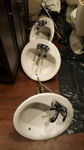 Sinks and toilets