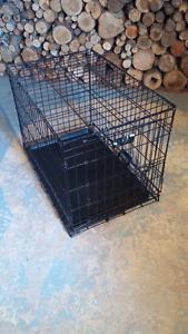 Cage pour chien pliable