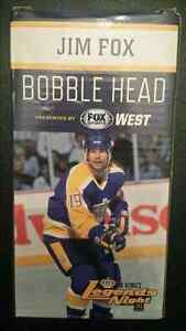 Jim Fox Bobblehead giveaway new in box