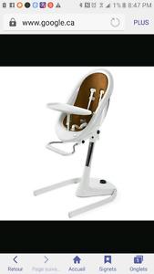 Recherche chaise haute mima moon