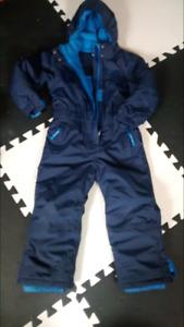 $50 Boys one-piece snowsuit