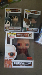 Attack On Titan Funko Pop