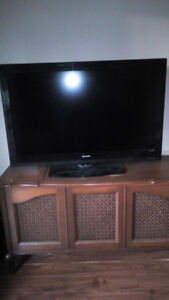 "Damaged 42"" Sharp LCD TV"