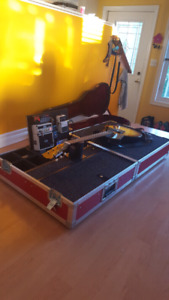 Clydesdale Guitar teching flight case