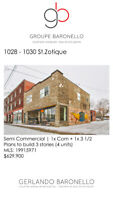 Commercial Duplex for Sale - 1028 - 1030 RUE ST-ZOTIQUE E.