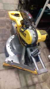 "Dewalt Mitre Saw 12"" with stand"