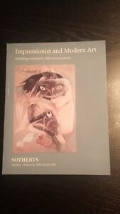 Impressionist and Modern Art including ceramics by century artis