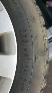 205/55 R16 used 2 seasons