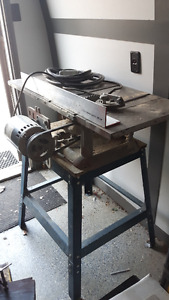 Electric Table Saw & Stand