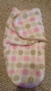 Swaddle me sleep sack warm thick super soft material