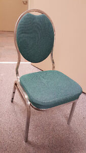 Banquet style chairs