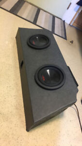 Subwoofers, box and Amplifiers