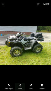 2007 Polaris sportsman 500 fully equipped