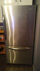 Refrigerateur Amana stainless